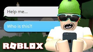 CREEPY TEXT STORY IN ROBLOX!