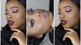 3eb5a03695e NIGHT OUT FULL FACE MAKEUP TUTORIAL W/JANIELLE WRIGHT || HOW TO USE  EYESHADOW GLITTER by ...