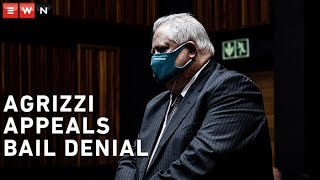 The Johannesburg High Court heard Angelo Agrizzi's application to appeal his bail denial on 26 October 2020.