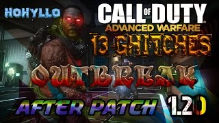 Cod -Advanced Warfare- Exo Zombies 13 Glitches  Working After Patches 1.20 Outbreak ps3.