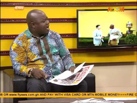 BNI defends detention of Akufo Addo's photographer   Badwam on Adom TV (21-4-16)