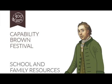 Capability Brown Festival school and family resource pack webinar