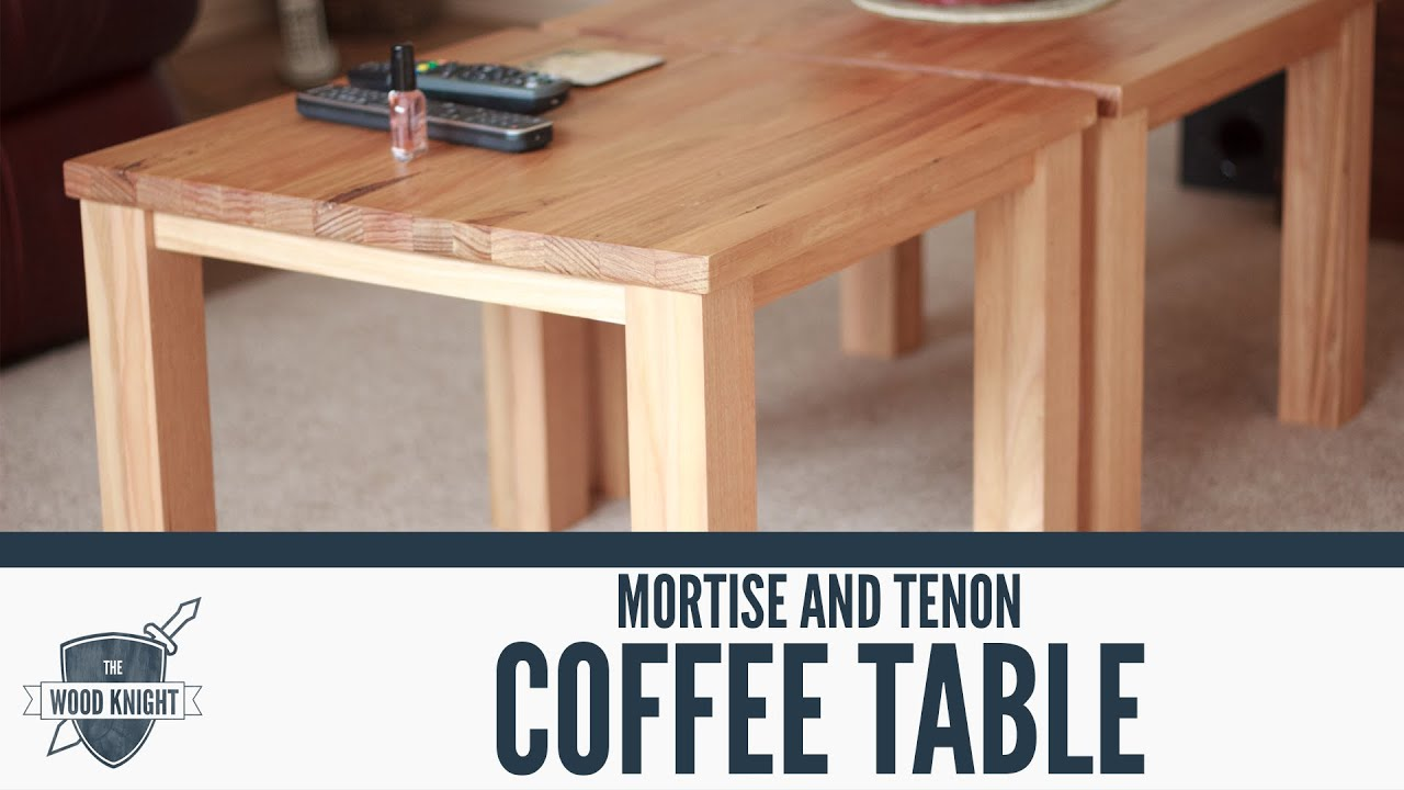 Mortise And Tenon Table Plans