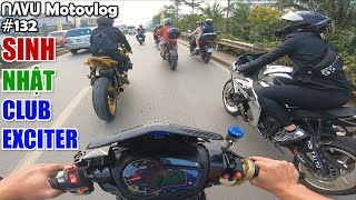 Navu, Tới Tài Tử, Dũng Nguyễn dẫn đoàn roadshow sinh nhật club Exciter Đi Để Trở Về | Motovlog 132