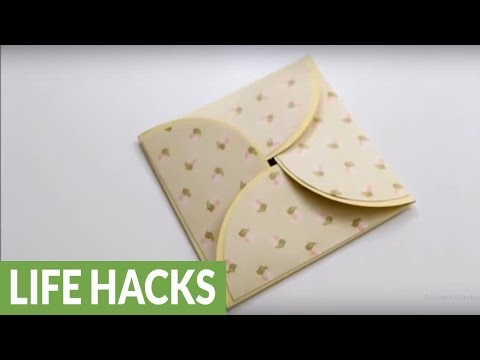 DIY paper crafts: How to make a homemade greeting card