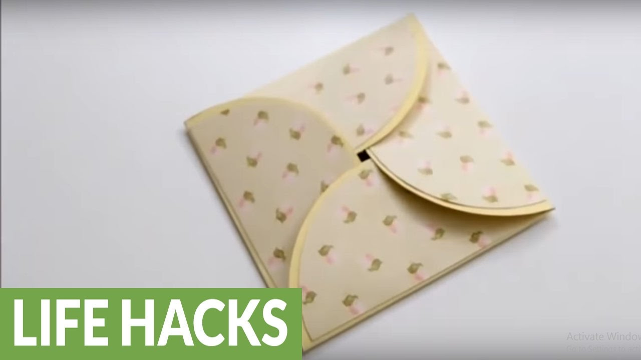 DIY Paper Crafts How To Make A Homemade Greeting Card