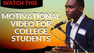WHY I NEVER GAVE UP ON COLLEGE | Motivational Video