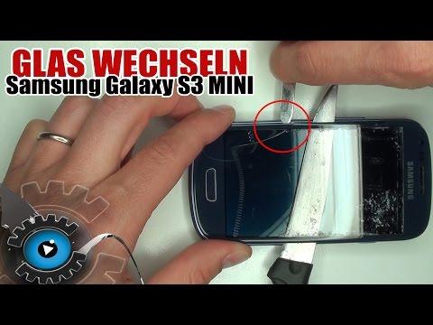 Samsung Galaxy S3 MINI Glas Tauschen Wechseln unter 30€ Reparieren [German/Deutsch][HD]Glass Repair