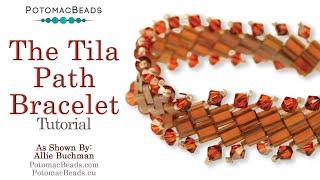 Make a Tila Path Bracelet