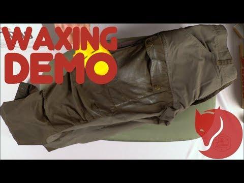Greenland Wax Demo - Fjallraven
