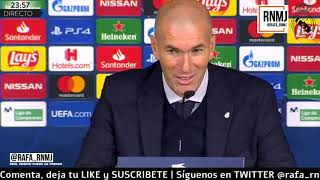 Download Real Madrid 2-2 PSG Rueda de prensa post de ZIDANE Champions (26/11/2019) Mp3 and Videos