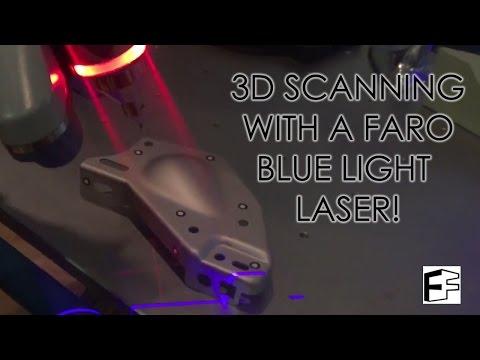 FARO Arm Laser 3D Scanning demo!