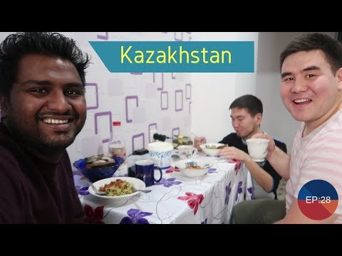 How Kazakhstan People Treated an Indian Tourist !!