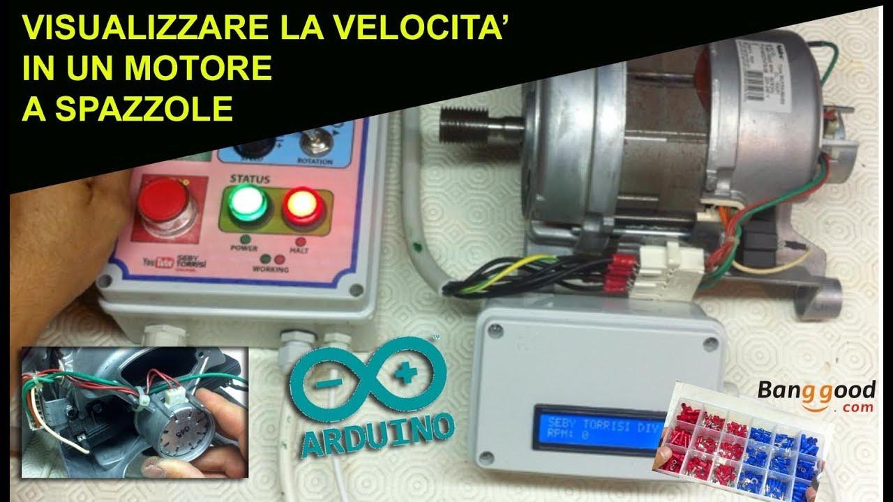 Schema Elettrico Regolatore Di Tensione Velocità Motore Elettrico Corrente Continua : Come rilevare la velocità giri rpm di un motore lavatrice a