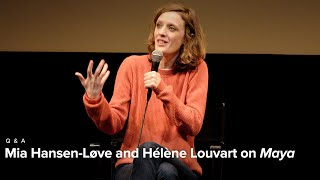 Zapętlaj Mia Hansen-Løve and Hélène Louvart on Maya | Rendez-Vous 2019 | Film at Lincoln Center