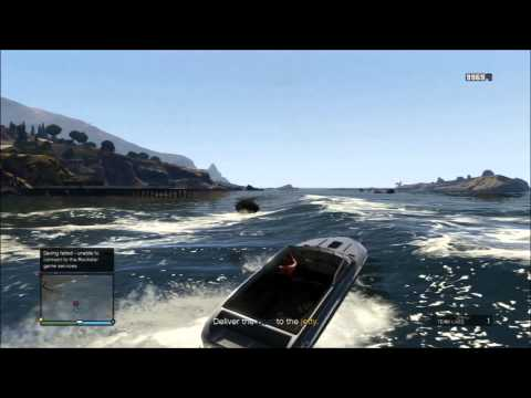 GTAV playthrough - A Boat in the Bay [Hard - Free Aim]