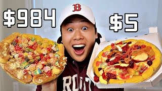 $5 Pizza Vs. $984 Pizza