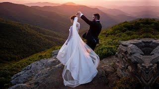 Beth and Ryan's Wedding at Omni Grove Park Inn -  Asheville, NC