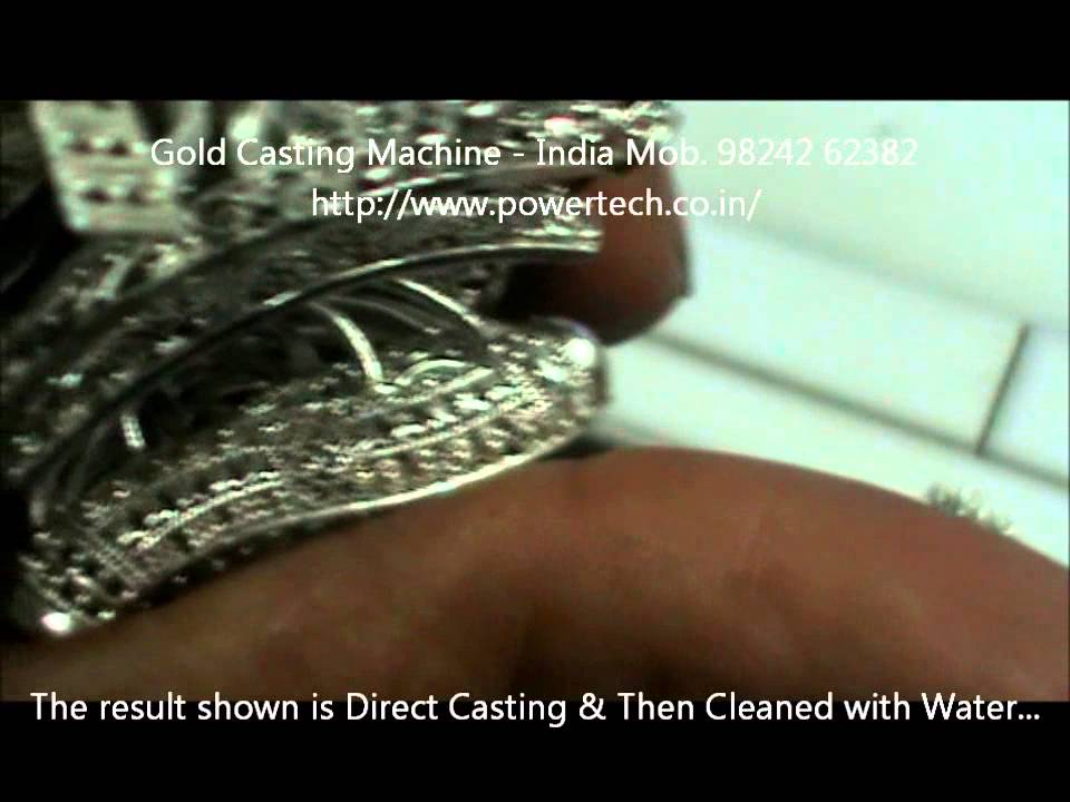 Gold Jewelry Vacuum Casting Machine by Lost Wax Casting Process for