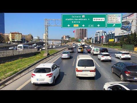 Bus Ride in Istanbul, Traveling to Başakşehir