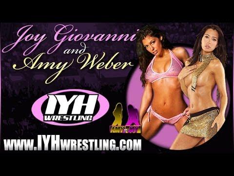 Amy Weber wrestling shoot