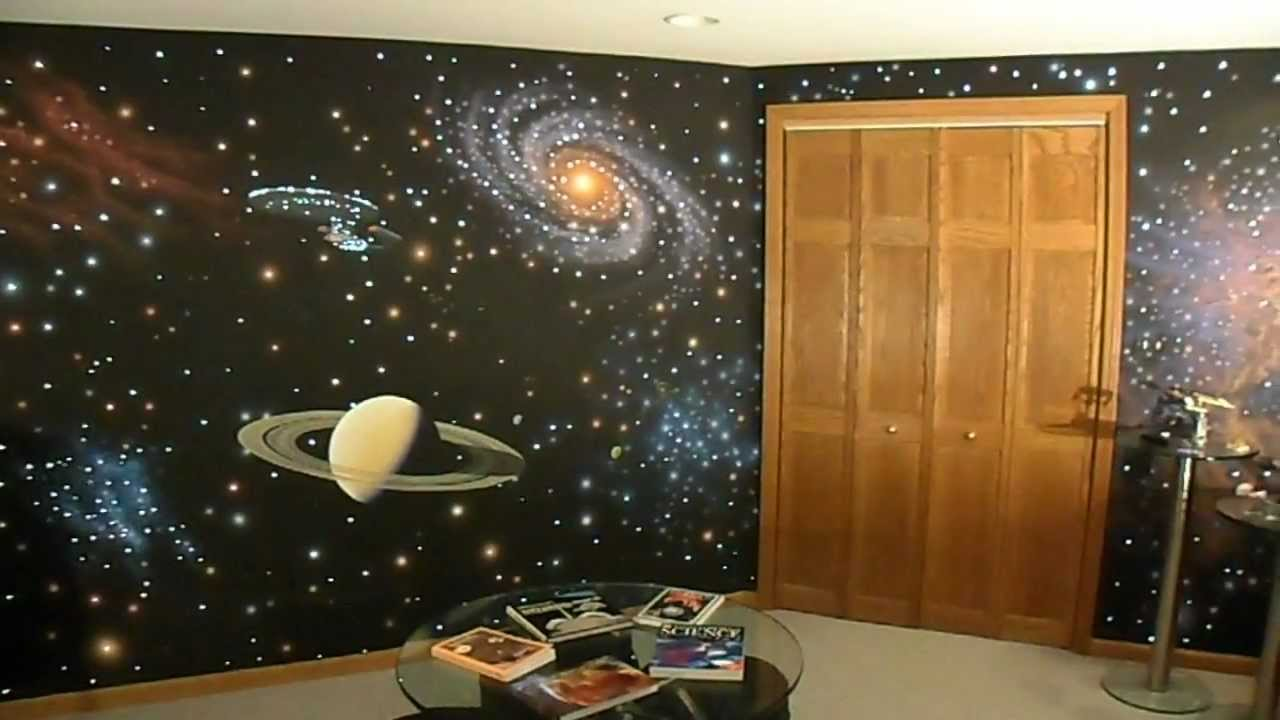 Fiber Optics + Star Trek Wall Part 21