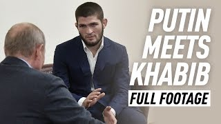 FULL: Putin meets with champion Khabib Nurmagomedov after UFC 242 win