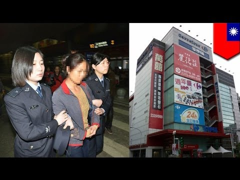 Shoplifting fail: Hong Kong tourists caught stealing from Taiwan supermarket, arrested