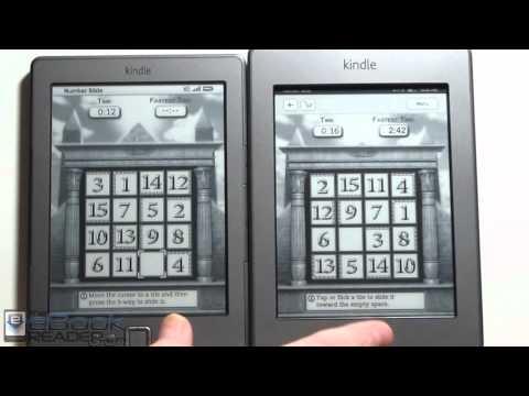 Kindle Touch vs Kindle 4 Comparison Review - YouTube