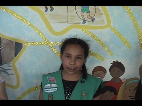 Girl Scouts create mural at French Road Elementary School