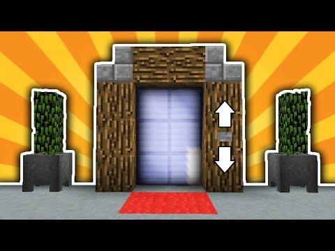 Как в майнкрафте сделать лифт легко