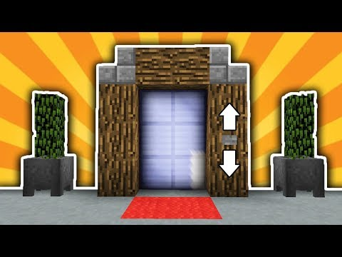 Как сделать в майнкрафте лифт без модов