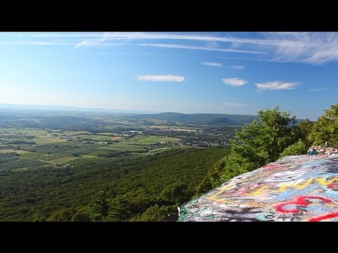 High Rock - Maryland - The Top Of The World | Canon T3i 600D | Polarizing Filter