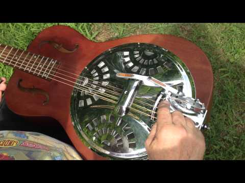 Bowden B Bender for Dobro Short Demo by Richard Bowden