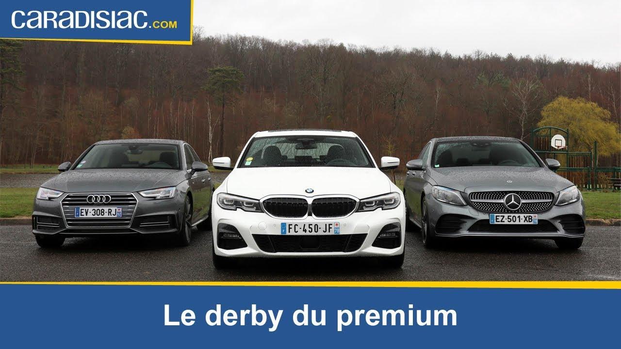 Download BMW Série 3 vs Audi A4 vs Mercedes Classe C : le derby du premium
