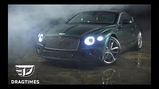 Dt Test Drive - 2018 Bentley Continental Gt. Заезд С Ferrari 488 Gtb И Nissan Gt-R