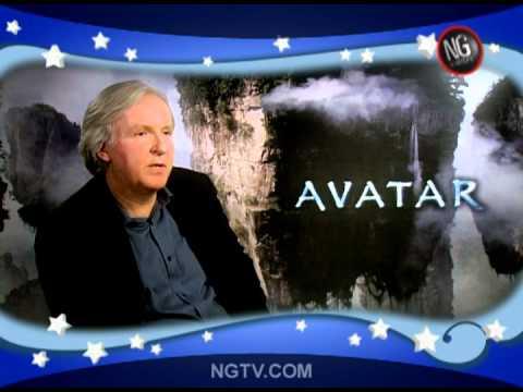 Sam Worthington, James Cameron & Zoe Saldana on Avatar