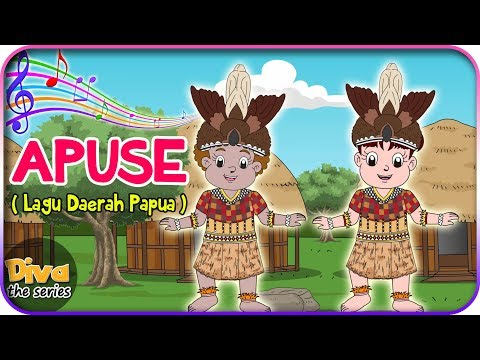 APUSE | Lagu Daerah Papua | Diva bernyanyi | Diva The Series Official