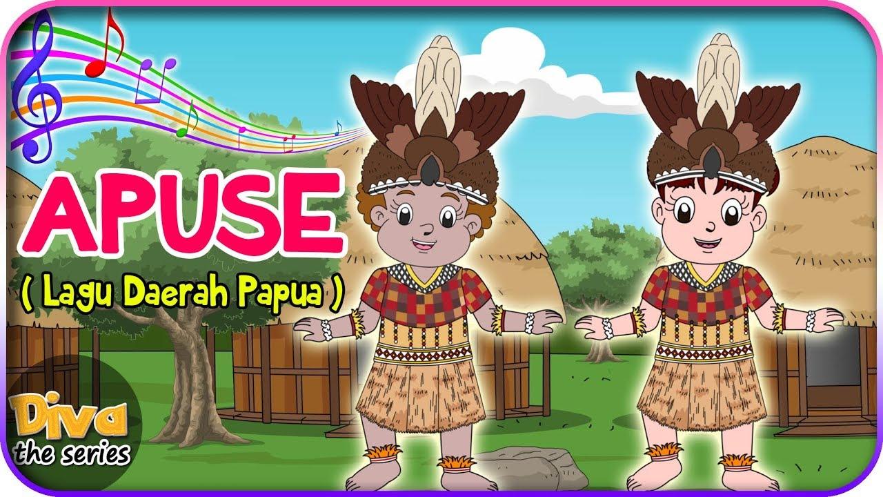 APUSE  Lagu Daerah Papua  Diva bernyanyi  Diva The