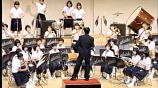 第40回 全日本吹奏楽コンクール 中国大会 大内中学校 青銅の騎士