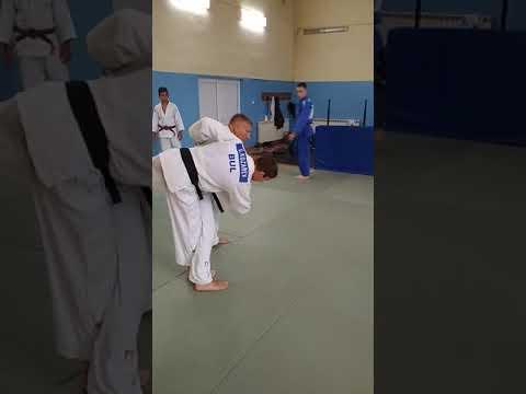 Judo class: Georgi Georgiev, Kumi-kata with Tai-Otoshi