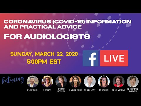 Coronavirus Covid 19 Information And Practical Advice For Audiologists
