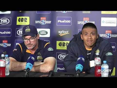 2020 Super Rugby Round Two: Brumbies press conference