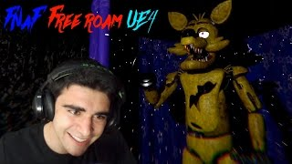 GOLDEN FOXY IS IN THIS GAME!!! - Five Nights at Freddy's Unreal Engine 4 (Nights 3 & 4 COMPLETED!)