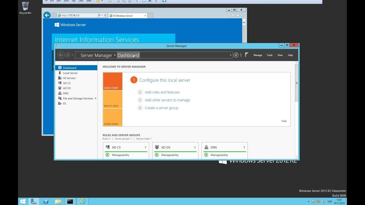 Server 2012 IIS Kurulumu ve HTTP Site Oluşturma