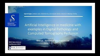2019 Data Science Conference - Kjersti Engan