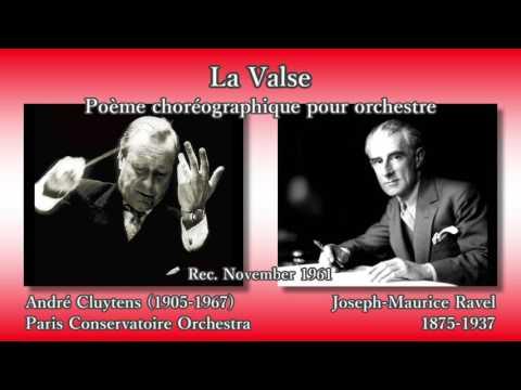 Ravel: La Valse, Cluytens & PCO (1961) ラヴェル ラ・ヴァルス クリュイタンス