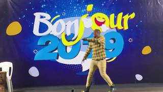 [Bonjour 2019 ] - DJ Ramatoulaye face au public de Bingerville