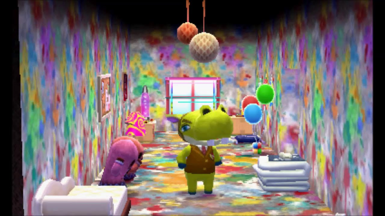 Animal Crossing Happy Home Designer Decorating Hippeuxs House