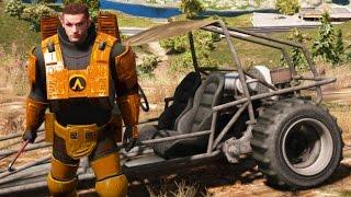 هذا الـ Mod لنسخة الحاسب الشخصي يدمج ما بين GTA V و Half-Life